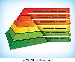 Pyramidal presentation concept - Pyramidal presentation...