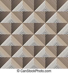 pyramidal seamless pattern