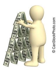pyramide, financier