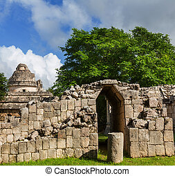 pyramide, mexique