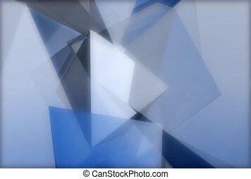 pyramide, triangle, géométrique