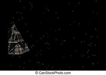 pyramide, vaisseau spatial