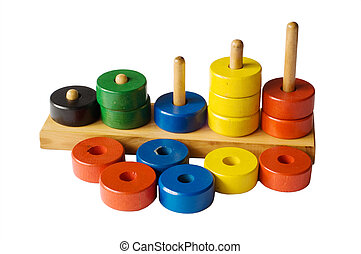 toys - pyramidion, rings, toys
