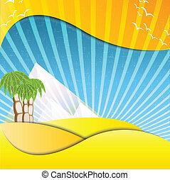 pyramids mirage