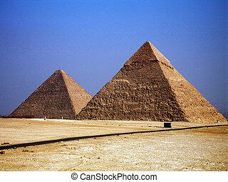 Pyramids, egypt, sand, pharaoh, history
