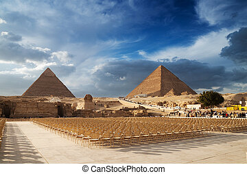 Pyramids  - The Pyramids in Egypt