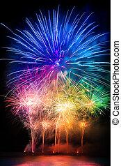 pyrotechnics explosion