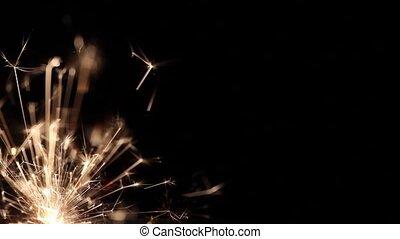 pyrotechnics sparkler firework - Lightening Christmas...