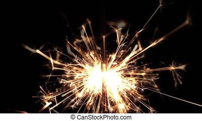 pyrotechniek, sparkler, vuurwerk