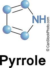 Pyrrole organic compound. - Pyrrole is a heterocyclic...