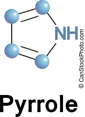 Pyrrole organic compound. - Pyrrole is a heterocyclic...