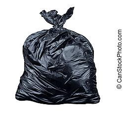 pytel, odpadky