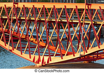 Pyton Bridge Structure - Red Python Bridge Structure in ...