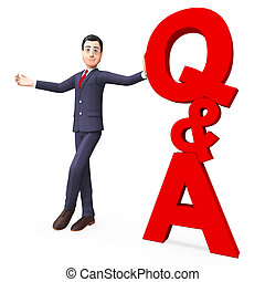 Q And A Means Frequently Asked Questions And Answer - Q And...