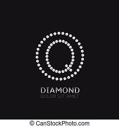 q, brev, diamanter