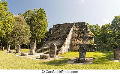 q, guatemala, 複合センター, 台なし, tikal