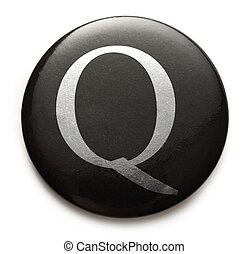 q, latin, lettre