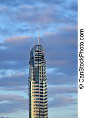 Q1 Tower in Gold Coast Queensland Australia - SURFERS...