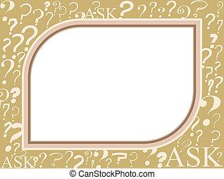 Q&A frame