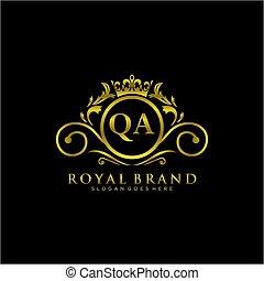 initials signature logo. Handwriting logovector templates. Logo for business, beauty,fashion, signature.