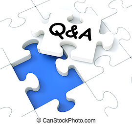 Q&A Puzzle Shows Frequently Asked Questions - Q&A Puzzle...