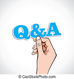 Q&A Word In Hand S