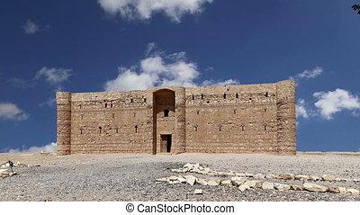 Qasr Kharana, eastern Jordan - Qasr Kharana (Kharanah or ...