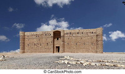 Qasr Kharana,eastern Jordan - Qasr Kharana (Kharanah or...
