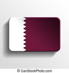 Qatar 3D button