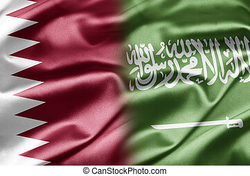 Qatar and Saudi Arabia