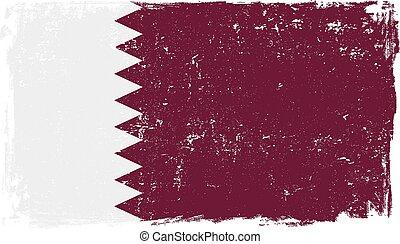 Qatar flag vector