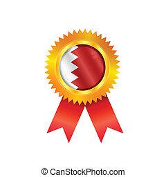 Qatar medal flag