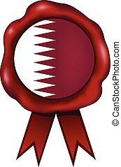 Qatar Wax Seal