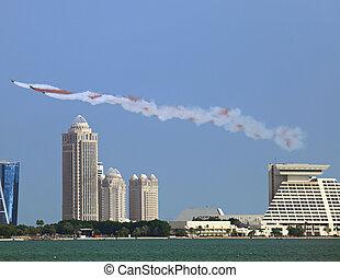 Qatari air force display