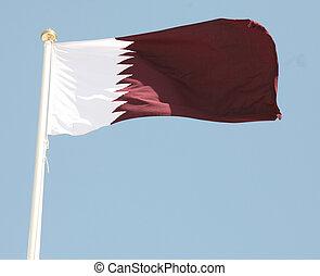 qatari, bandera