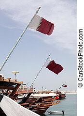 Qatari dhows