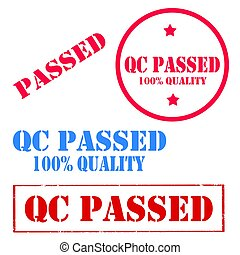 QC Passed-stamps