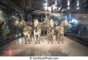 Qin dynasty Terracotta Army, Xian (Sian), China
