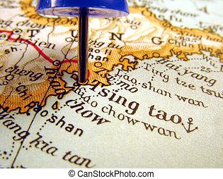 Qingdao, China - Qingdao, one of China\\\'s biggest cities,...