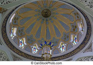Qolsarif Mosque, Kazan - The Qolsarif Mosque located in ...