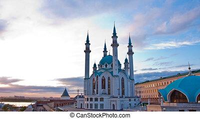 Qolsharif Mosque in Kazan Kremlin, Tatarstan, Russia