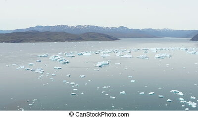 Qooroq Icefjord, Greenland - Qooroq Icefjord in South...