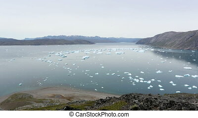 Qooroq Icefjord, Greenland - Qooroq Icefjord in South...
