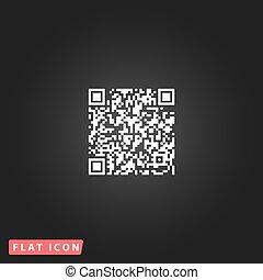 qr, code, pictogram