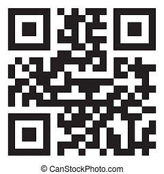 Qr code - sample qr code ready to scan with smart phone