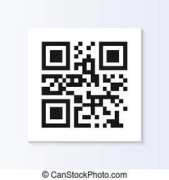 QR Code Vector Tag