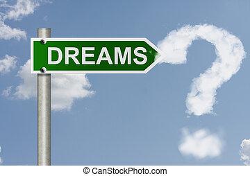qué, su, sueños