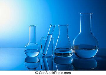 químico, equipamento laboratório