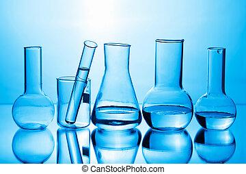 químico, equipo del laboratorio