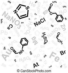 químico, fundo